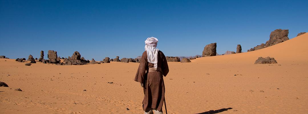 Touareg, Sahara, Algeria