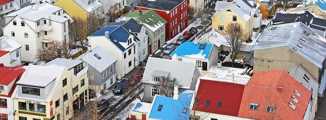 Reykjavik, capitala Islandei