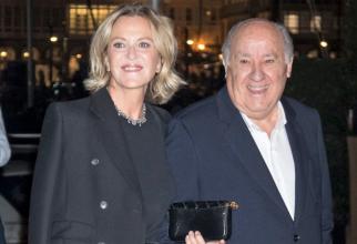 Amancio Ortega și soția lui, Flora Perez