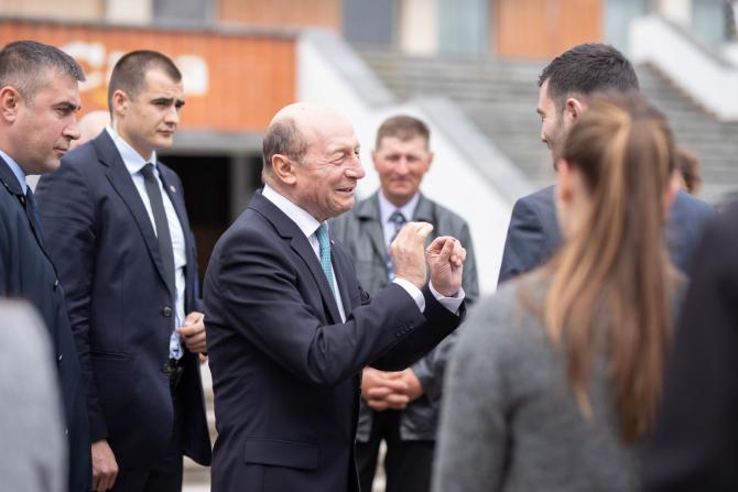 Traian Băsescu, fost președinte al României