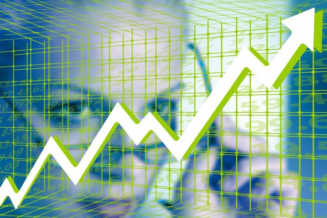 Bursa a deschis ședința pe creștere