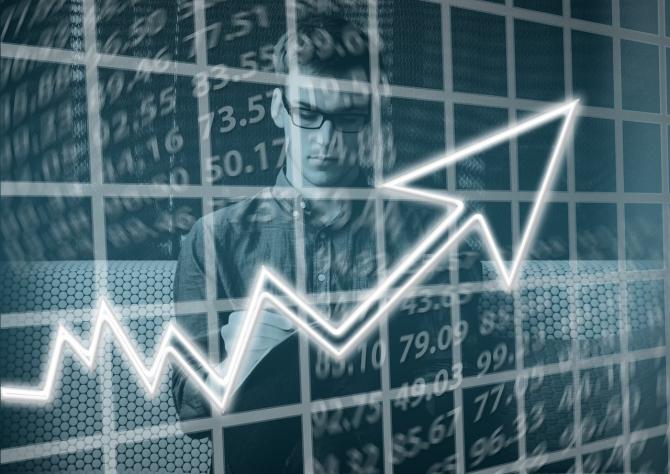 Bursa își revine după ai multe zile de scădere