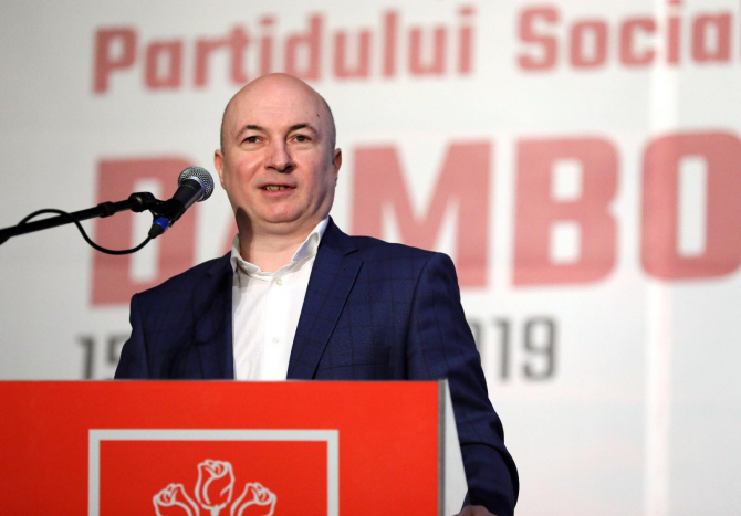Codrin Ştefănescu, fost secretar general al PSD