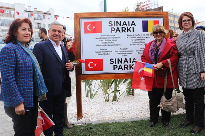 Inaugurarea Parcului Sinaia din Kuşadasi
