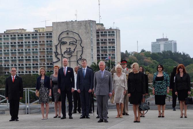 Prințul Charles la Havana