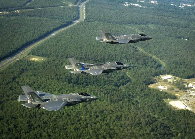 Washington a aprobat vânzarea avioanelor F-35 către Japonia