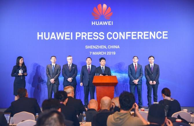 Huawei, conferință de presă