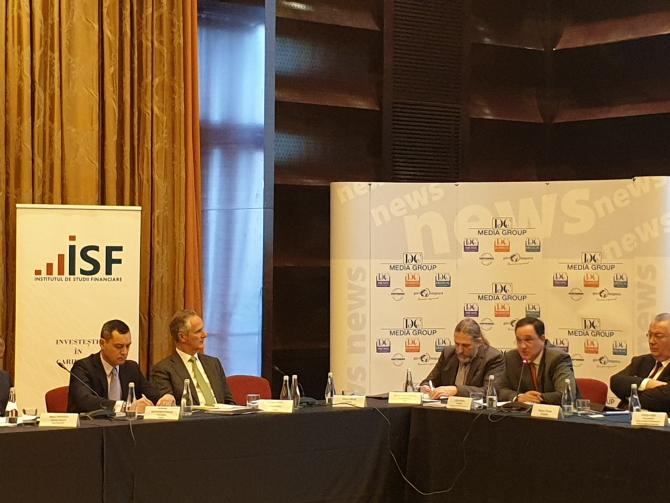 Conferința este organizată de Institutul de Studii Financiare
