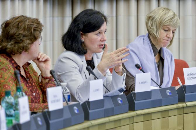 Vera Jourova, comisarul european pentru Justiție