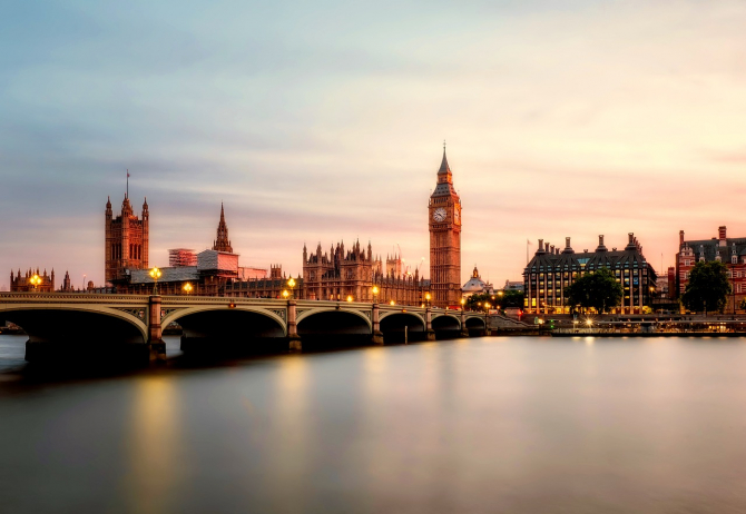 Nunărul de turiști din Regatul Unit este în scădere