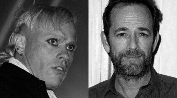 Keith Flint și Luke Perry