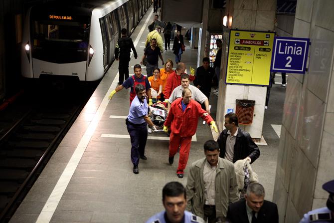 Veniturile companiei de transport Metrorex vor scădea cu 53,60%