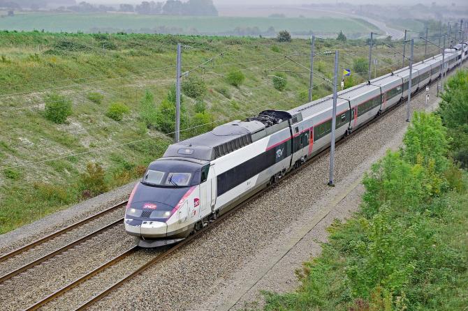 Tren de mare viteză (TGV) în Franța