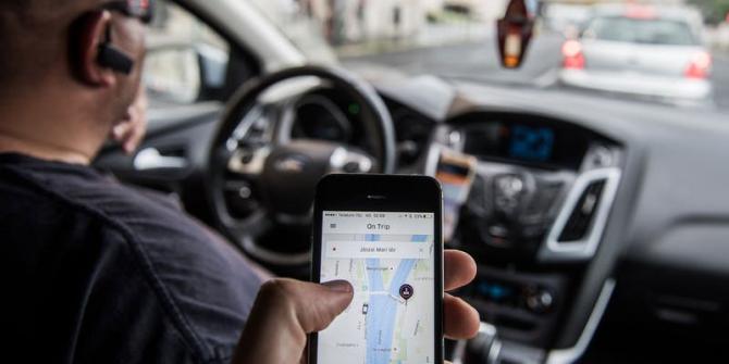 Uber e noul rege al transportului de persoane