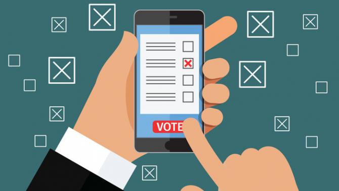 Romanii ar putea vota chiar si de pe telefoanele mobile