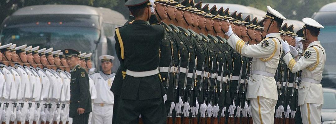 China, arta mulțimii