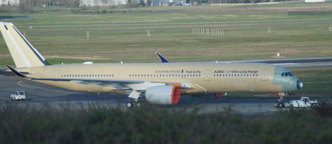 Guvernul german va cumpăra Airbus A350