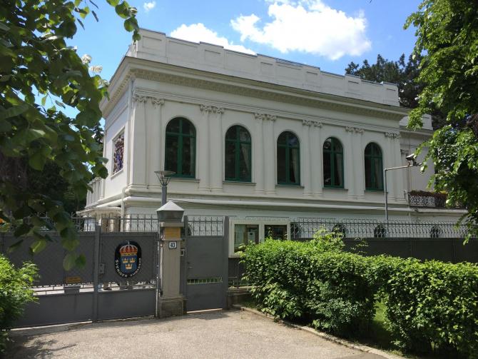 Ambasada Suediei la București