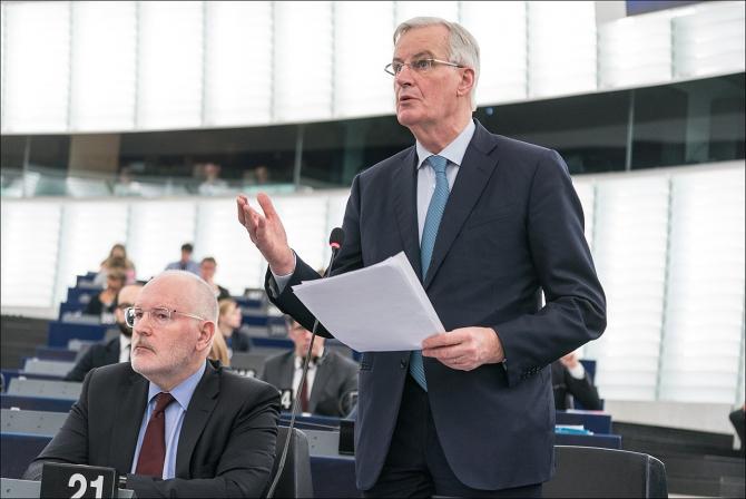 Michel Barnier, negociatorul-șef al UE pentru Brexit
