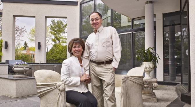 Honey și Barry Sherman