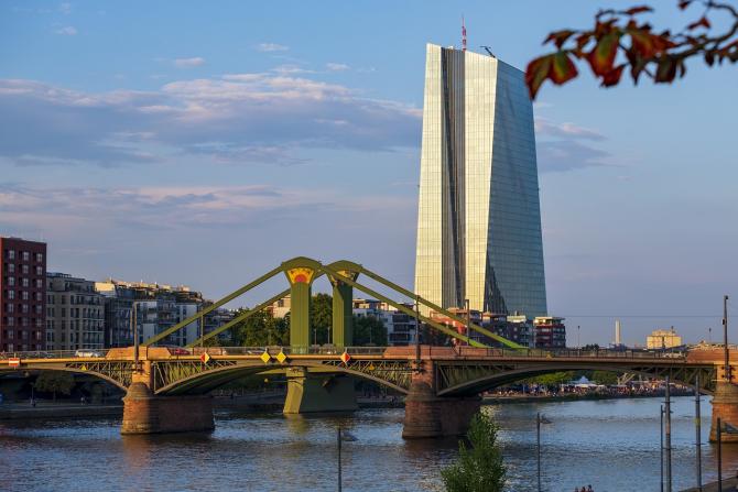 Sediul BCE de la Frankfurt
