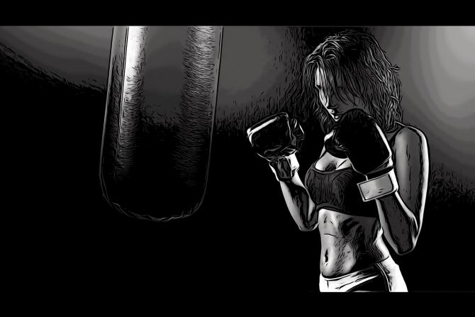 Boxul feminin nu este văzut cu ochi buni în Iran