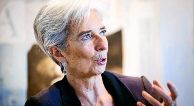 Preşedinta Băncii Centrale Europene (BCE), Christine Lagarde