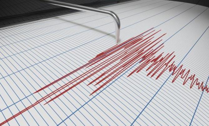 Seismul s-a produs la o adâncime de 133 de kilometri