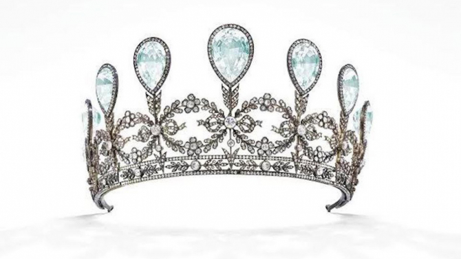 Tiara Fabergé