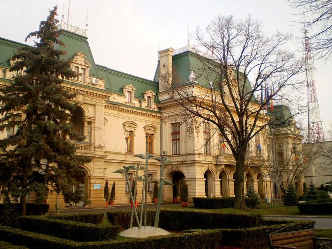 Palatul Roznovanu, sediul primăriei din Iași