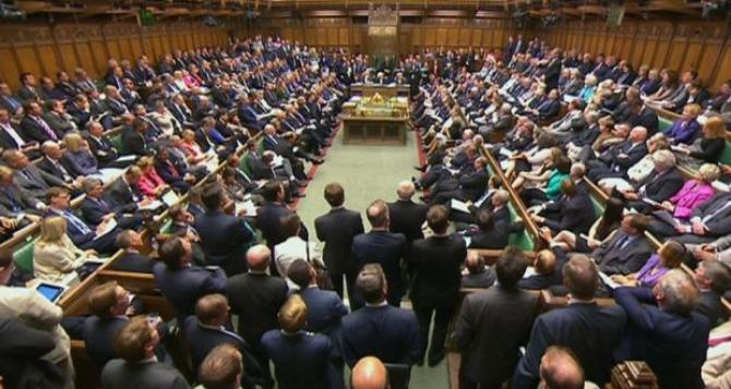 Vot strâns în Parlament
