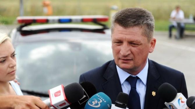 Colonelul Lucian Diniță este fostul șef al Poliției Rutiere