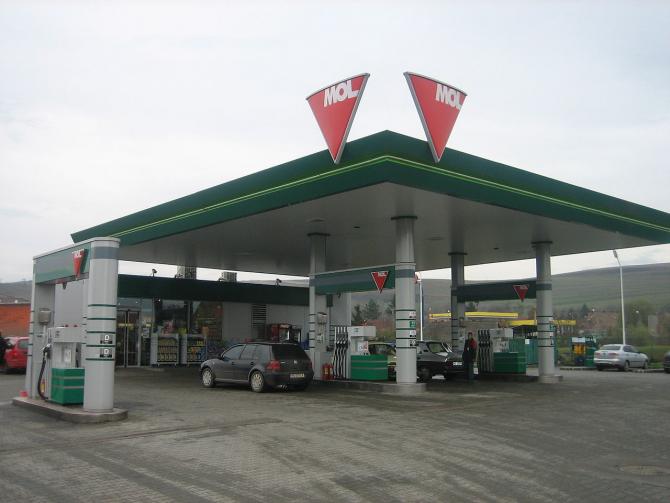 Benzinărie MOL