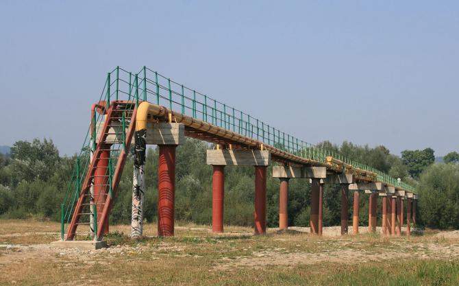 Porțiune din oleoductul Drujba