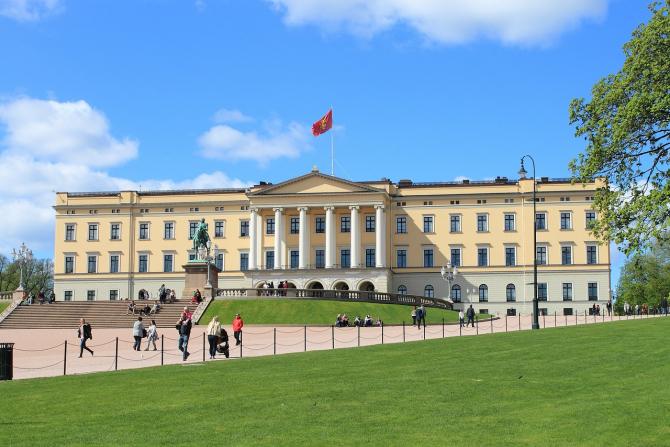 Palatul regal din Oslo