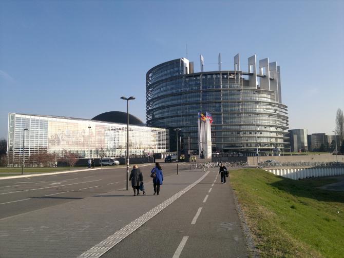 Sediul din Strasbourg al Parlamentului European