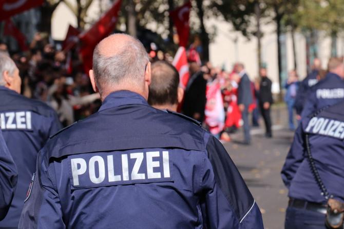 Polițiștii germani au avut parte de o surpriză de proporții