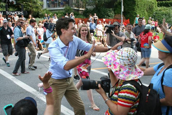 Justin Trudeau, premierul Canadei