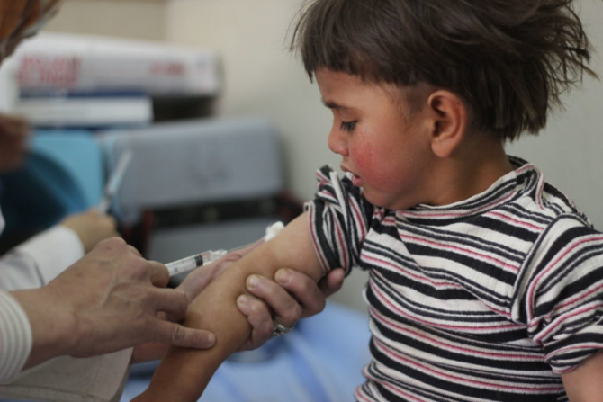 UNICEF a lansat campania de promovare a vaccinării