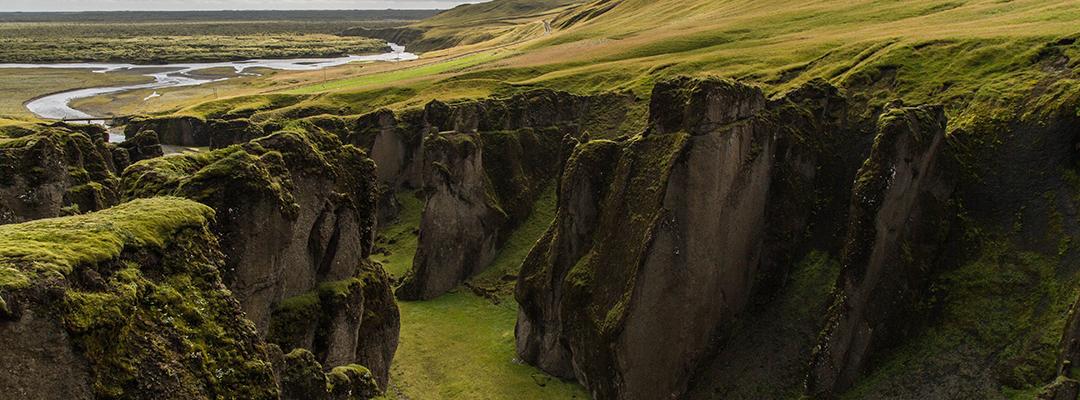 Islanda, Fjadrárgljúfur