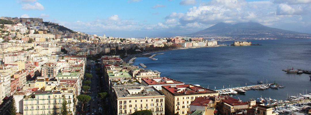 Napoli, Vezuviu, Italia