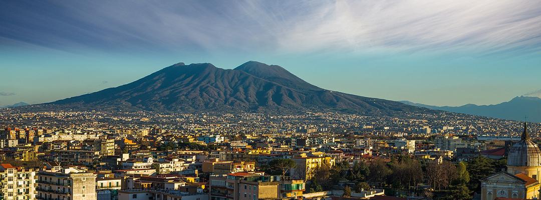 Vezuviu, Napoli, Italia