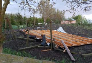 Consecintele tornadei din județul Călărași