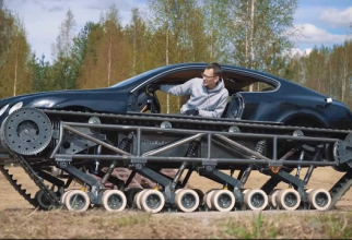 Bentley-ul cu șenile