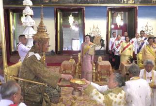Ceremonia de încoronare a noului rege thailandez, Maha Vajiralongkorn