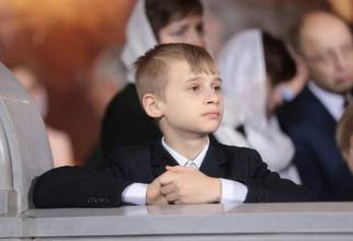 Poza cu Dmitri despre care se crede că ar fi fiul lui Putin