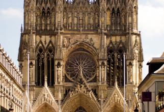 Notre Dame din Reims, locul de încoronare a regilor Franței
