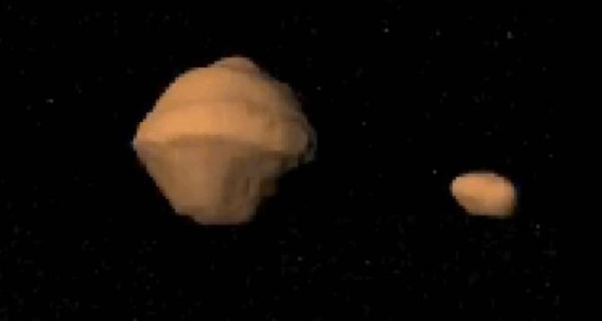 Un asteroid altfel decât altele