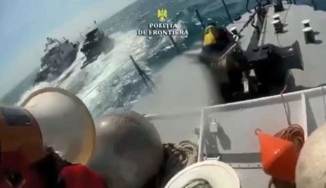 Braconierii turci nu au oprit decât după ce Garda de Coastă a deschis focul