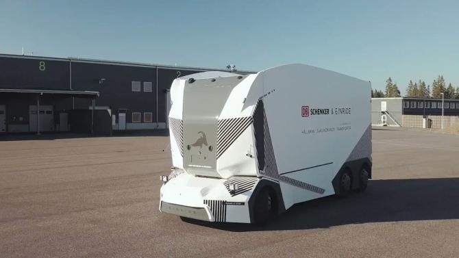 Primul camion electric fără șofer, operațional pe șosele